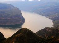 壮丽的黄河第一湾高清风景壁纸
