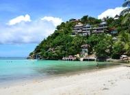 阳光沙滩菲律宾海边风景壁纸