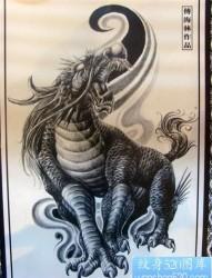 龙生九子之朝天吼纹身图案及意义详解