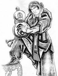 中国古代人物纹身图片