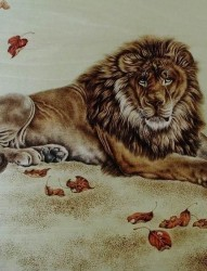 520纹身一张霸气狮子纹身图片