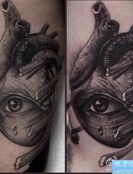 纹身520图库推荐一幅手臂眼纹身图片