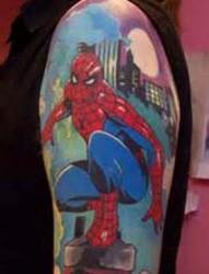 蜘蛛侠纹身图案——将真正的英雄印记在肌肤图案