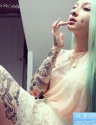 tattoogirl纹身图案
