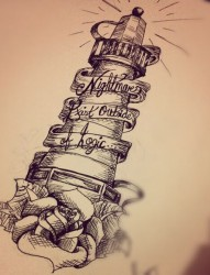 漂亮个性的纹身手稿