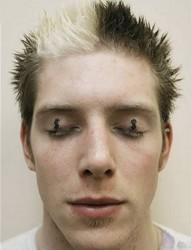 刺激另类的眼皮纹身