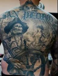 值得一看的男士满背纹身