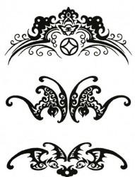 个性臂环纹身手稿素材合辑