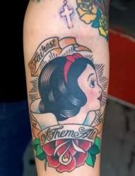 卡通系列之白雪公主纹身