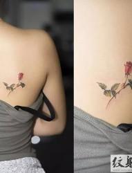 素雅小清新纹身图案大全