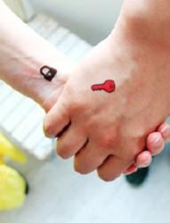 你是我命中注定的另一半  情侣纹身