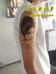 人像纹身安阳水冶纹身金左堂纹身盖疤痕 修改纹身