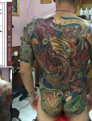 山东纹身 修改纹身 覆盖纹身 兖州赤焰堂纹身店