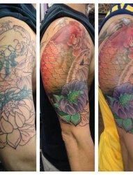 25个成功覆盖纹身图案