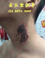 鹦鹉纹身  金左堂纹身 盖瘢痕 修改纹身 安阳纹身 水冶纹身