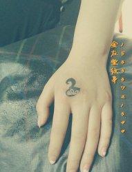 小清新纹身狐狸纹身金左堂纹身盖疤痕修改纹身 安阳纹身 水冶纹身