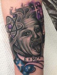 多款逼真的现实主义风格名人肖像画纹身图案来自克莱尔