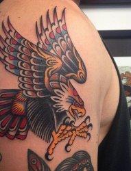 永恒的传统纹身图案来自纹身师维克