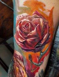 4款视觉现实主义纹身艺术纹身彩绘纹身技巧个性纹身图案