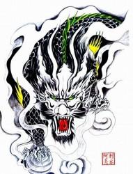 霸气黑色麒麟纹身手稿86488455ri3J.jpg