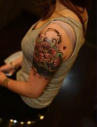 创意手臂时尚纹身图案