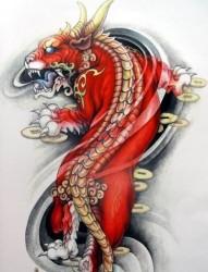 纹身520图库为您推荐招财纹身图片之貔貅纹身图案系列