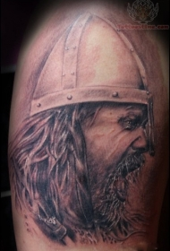 邪恶的海盗刺青图案