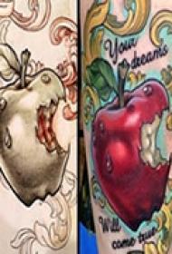 炫彩艺术手臂纹身