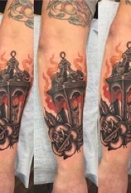 素描纹身 男生手臂上素描纹身图片