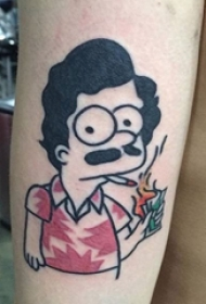 纹身卡通 多款素描纹身卡通纹身图案