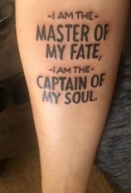 手纹身英文字母  女生手臂上创意的英文字母纹身图片