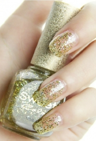 唯美美甲 给自己的指甲做点装饰
