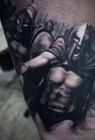铁血战士纹身  骁勇善战的铁血战士纹身图案