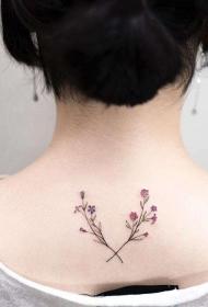 小清新 纹身   多款靓丽的小清新纹身图案