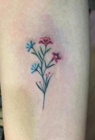 迷你小纹身  清新秀丽的植物纹身图案