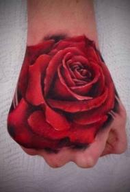 手部纹身图  时尚而又别致的手部纹身图案
