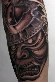 日本武士 纹身   英勇无畏的日本武士纹身图案