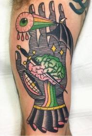 抽象纹身画   多款抽象风格的创意纹身图案