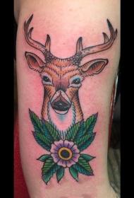 百乐动物纹身   生动活泼的百乐动物纹身图案