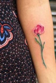植物纹身  创意的花朵纹身图案
