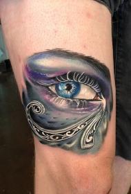 眼睛纹身   神采奕奕的眼睛纹身图案