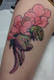 奇特个性风格的一组动物创意纹身图案欣赏
