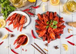 夏季美食小龙虾图片(26张)