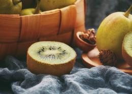 好吃的切块猕猴桃图片(12张)
