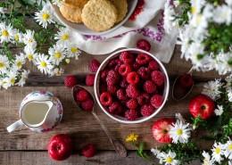 酸甜可口的红莓图片(13张)