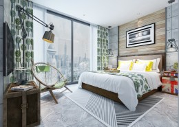 现代卧室装修设计图片(1