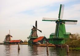 高大的荷兰风车图片(15张)