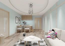 北欧客厅装修设计图片(12张)