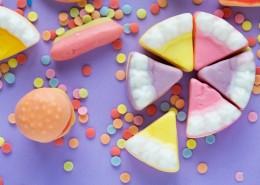 五彩的甜品图片(12张)