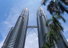 马来西亚吉隆坡石油双塔图片(15张)